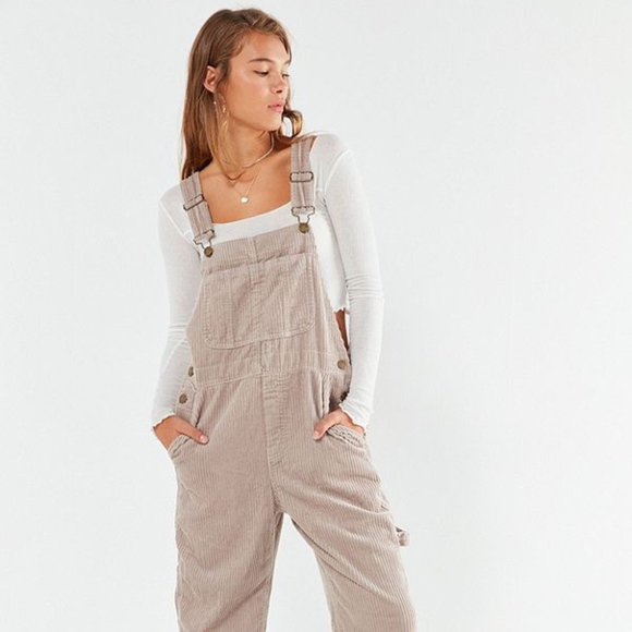 dbf6b6b4a6 BDG Relaxed Fit Corduroy Grey Gris Overall
